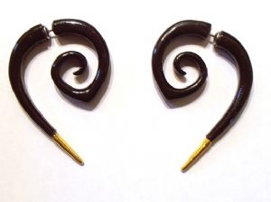 Girl with the Dragon Tattoo earrings, prop replica